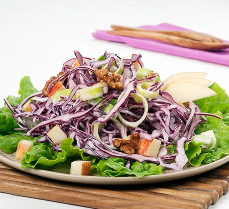salada couve roxa