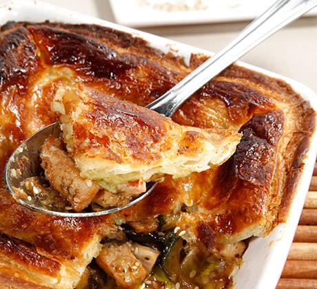 Estufado de legumes... para a tarte