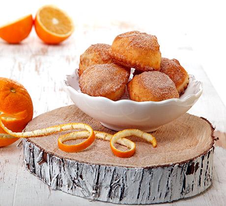 Fritos de laranja